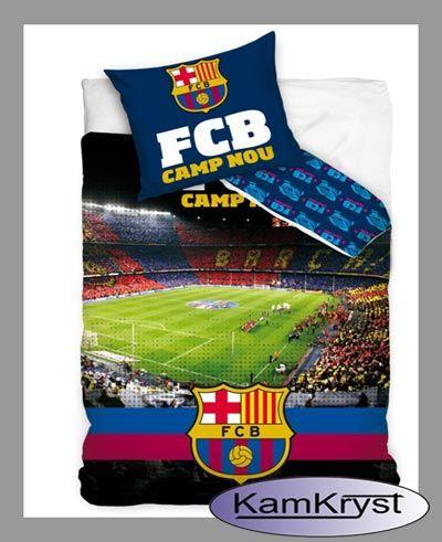 Bedding Barcelona's Camp Nou stadium | Pościel Barcelona Camp Nou stadion #fc_barcelona #barcelona_bedding