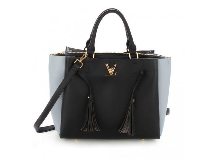 Čierno modrá kabelka do ruky Olivia AG00551