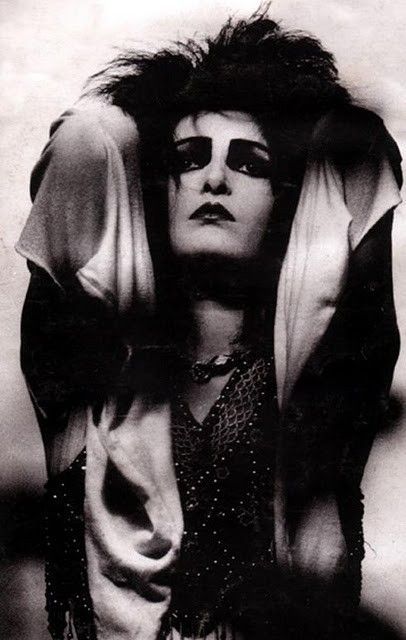 English singer songwriter, proto-goth and early punk, Siouxsie Sioux, who fronted Siouxsie and the Banshees siouxsie.com