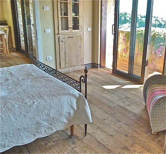 Larice vecchio parquet pavimenti rustici