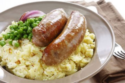 Weigh-Less Online - Bangers And Mustard Mash