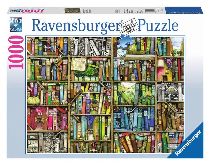 La librería mágica | Puzzle adultos | Puzzle | Productos | ES | ravensburger.com