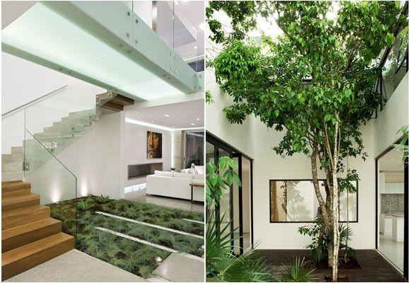 Muy buenas ideas de jardiner a para interiores for Ideas paisajismo jardines