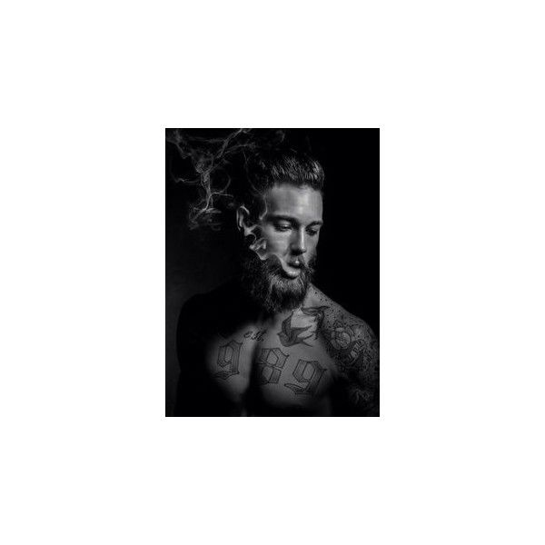 Beards And Mustaches ❤ liked on Polyvore featuring billy huxley