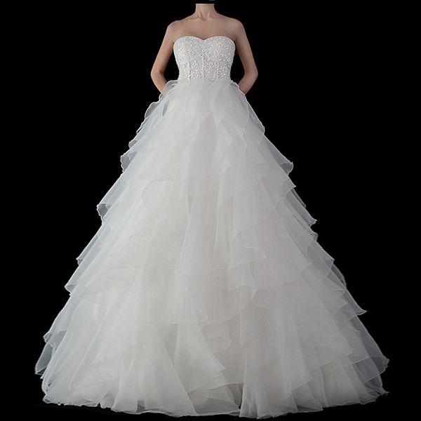 Prinzessinnen Brautkleider transparent - Brautkleid Prinzessinnen transparent von Impooria.