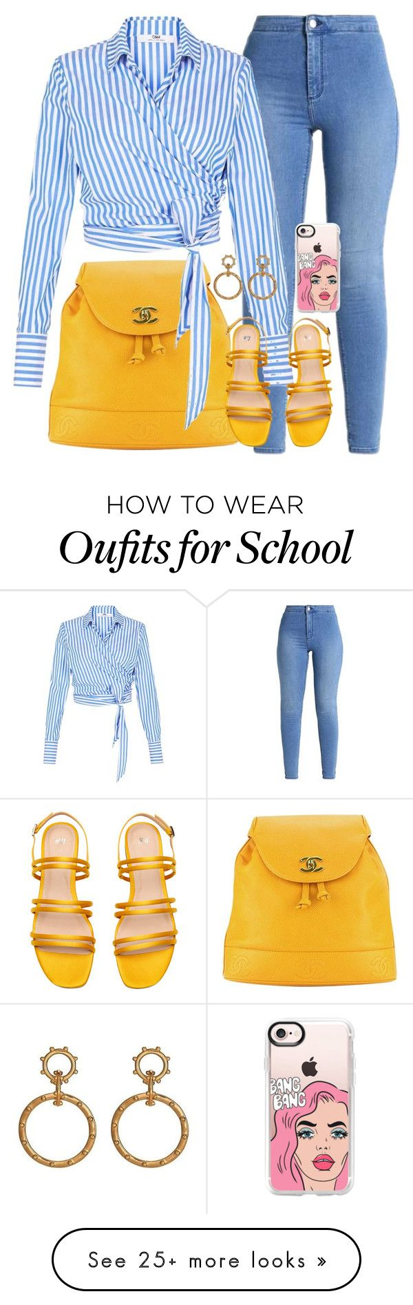 """Back to School"" by matousadiya on Polyvore featuring Chanel and Casetify"