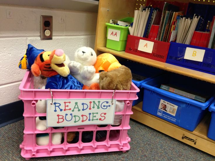 "Motivation to Read #1: Having stuffed animals in the reading corner gives students motivation at quiet independent reading.  It gives them a ""buddy"" to read with while still working on their own."