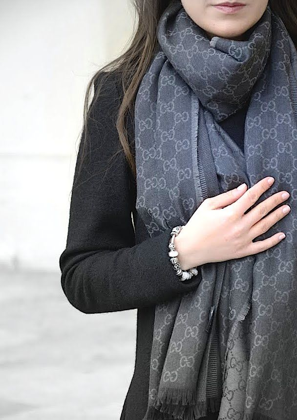 Gucci Scarf Pandora Style Pinterest Shawl Warm And Pandora