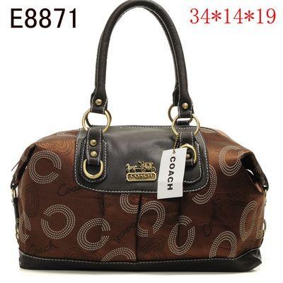 US1489 Coach Handbags Outlet E8871 - Brown 1489 (a favourite repin of VIP Fashion Australia Find preloved handbags at www.vipfashionaustralia.com )