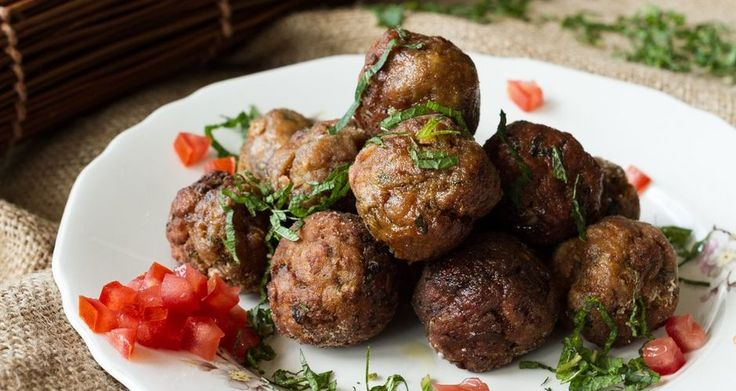 Ouzo and Basil Meatballs