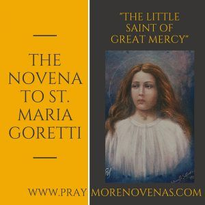 The Novena to St. Maria Goretti  http://www.praymorenovenas.com/