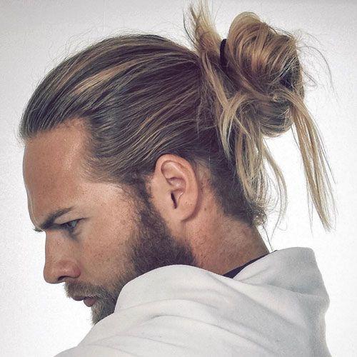 man bun haircut ideas