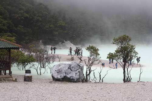 Kawah Putih Bisa Jadi Kawasan Pariwisata Kelas Dunia