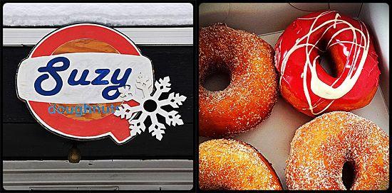 SuzyQ Doughnuts - Wellington Street, Hintonburg district, Ottawa. For more information on Ottawa restaurants visit http://www.ottawatourism.ca/en/visitors/where-to-eat-and-shop/restaurants