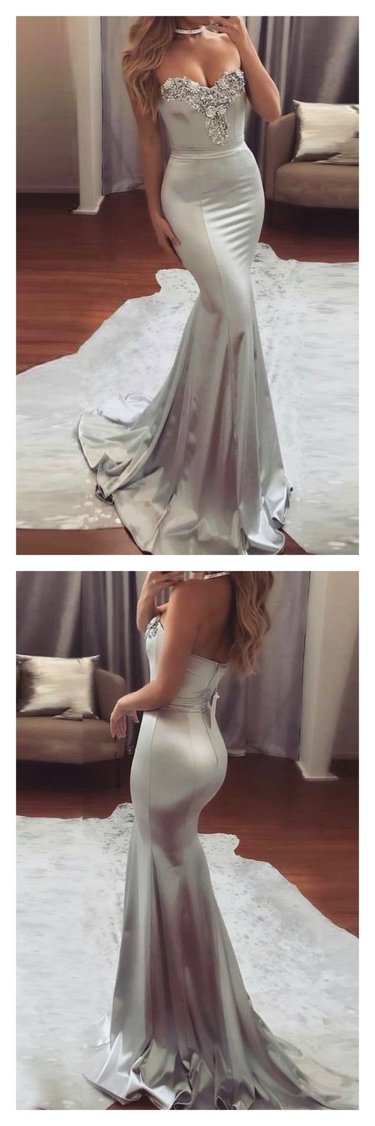 prom dresses 2017, long prom dresses,sexy prom dresses,mermaid prom dresses, spaghetti straps evening dresses, pageant dresses #SIMIBridal #promdresses