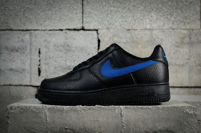 da88bc9f769d Nike Air Force 1 07 LV8 Low Black Gym Blue AA4083-003