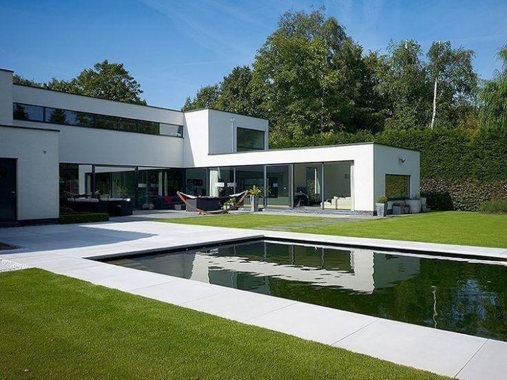 Moderne architectuur woningen modern design idee n bjorn pinterest design fotografie - Moderne uitbreiding huis ...