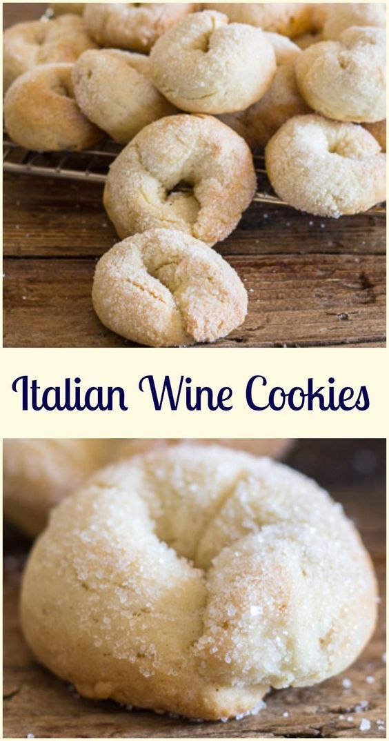 Wine cookies ciambelle al vino, a delicious crunchy not too sweet Italian fall cookie, made with white wine. Fast and easy. via @https://it.pinterest.com/Italianinkitchn/