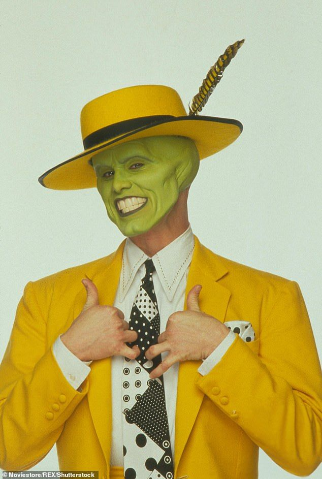 Jim Carrey Reveals He Would Be Happy To Portray The Mask Again Jim Carrey The Mask Jim Carrey The Mask Costume