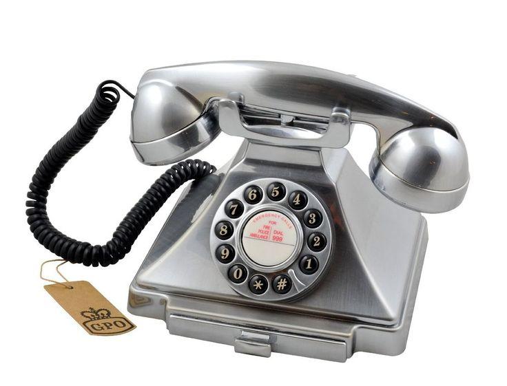Modern home telephone.