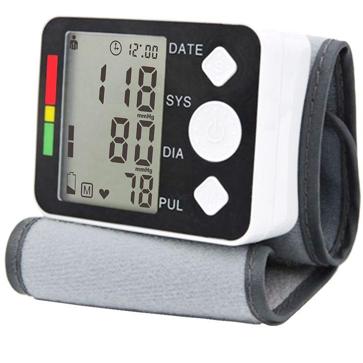 2017 tidakkah meteran tekanan darah Digital monitor Sphygmomanometer Tonometer portabel Otomatis untuk rumah perawatan kesehatan pengukuran
