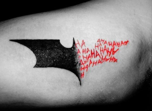 Batman Tattoos for Men - Ideas and Designs for Guys                                                                                                                                                                                 More