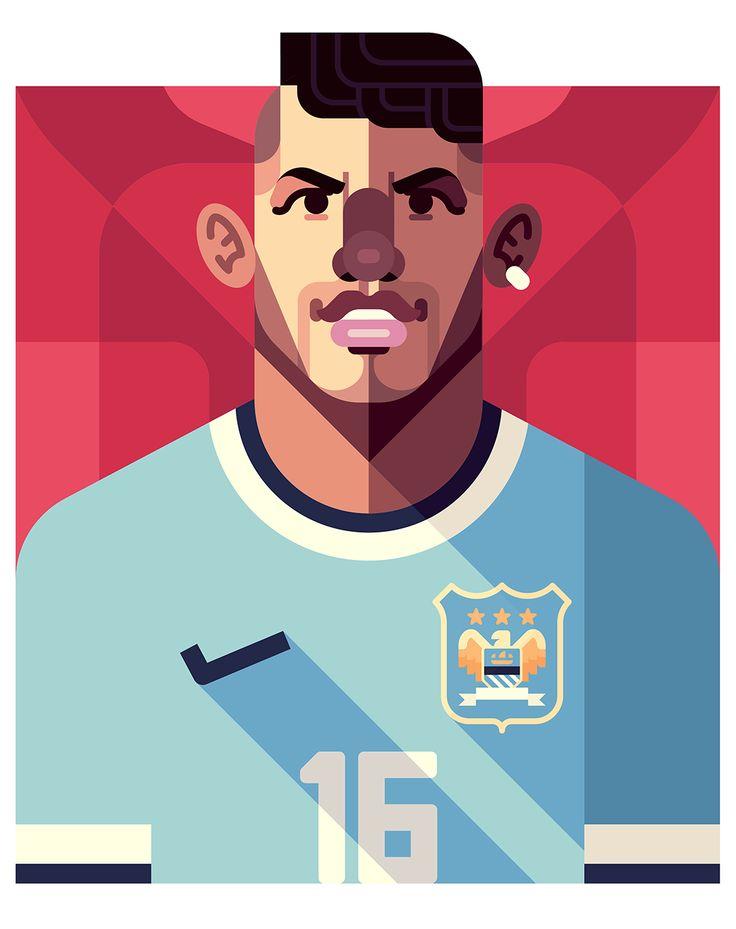 Kun Aguero | Manchester City | by Daniel Nyari