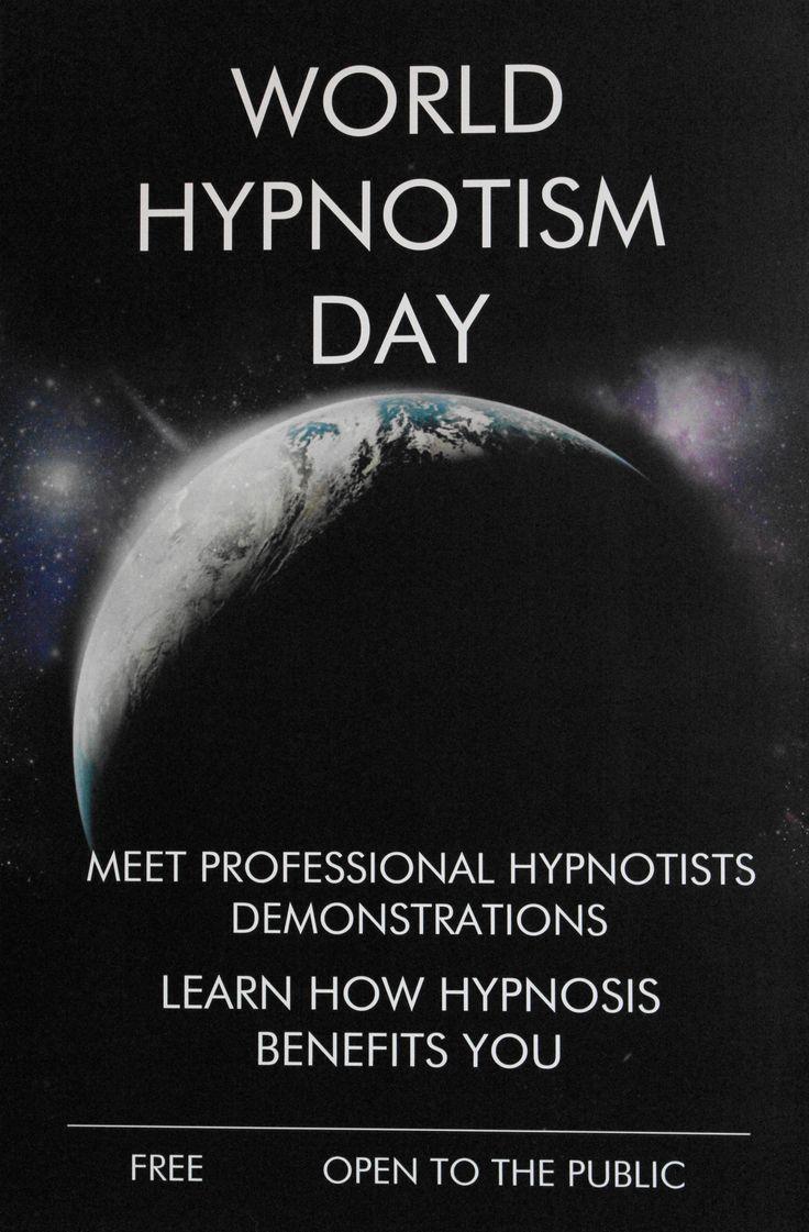 World Hypnotism Day 2015 -This was a fun day. | Reiki ...