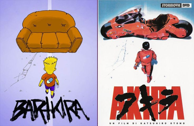 768 Artists Are Redrawing Akira Comics With Simpsons Characters #bartkira