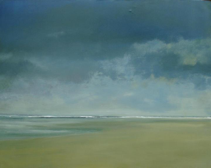 """Anne Packard """"blue skies"""""""