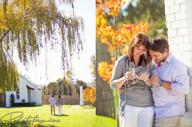 Marriage proposal photoshoot, #CapeWinelands #Love #CapeTown #WeddingPhotographer