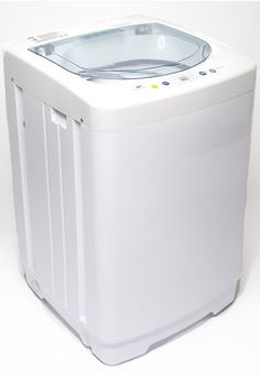 Portable Washing Machine With Spin Cycle: Computer Controlled Convenience and Lightweight Portability. Clean Clothes Anywhere!