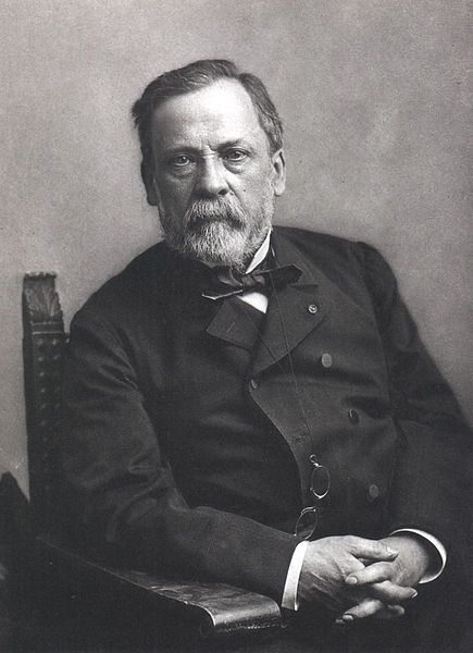 Louis Pasteur (1822–1895) was a French chemist and microbiologist, remembered for his remarkable breakthroughs in the causes and preventions of diseases. His discoveries reduced mortality from puerperal fever, and he created the first vaccines for rabies and anthrax. His experiments supported the germ theory of disease. He was best known to the general public for inventing a method to treat milk and wine in order to prevent it from causing sickness, a process now called pasteurization.