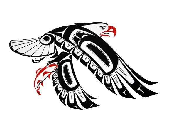 Would be a really cool tattoo= Pacific Northwest Indian Art | Prints - Glen Rabena, Northwest Coast Native Artist