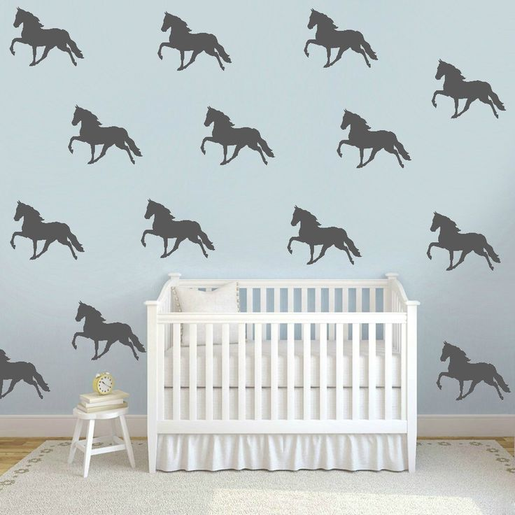 Horse Wall Decals, Faux Wallpaper, Horse Wall Decals, Equestrian Room Decals, Horse Decals, Horse Theme Wallpaper,Removable Wall Decal by TheSlumberJackBaby on Etsy https://www.etsy.com/listing/258545117/horse-wall-decals-faux-wallpaper-horse