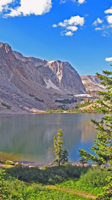 Medicine Bow near Laramie, Wyoming - I loved the lake and incorporated something similar into The Stagecoach Bride