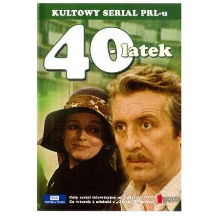 Serial Czterdziestolatek - 7 płyt DVD - Sklep SpodLady.com :: Nietypowe prezenty, absurdalne i śmieszne gadżety w klimacie PRL.