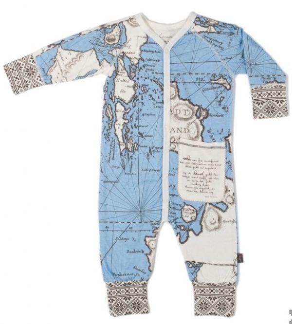Tuva Pyjamas Over Sjø & Land