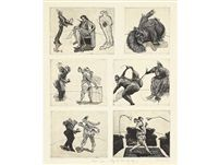 Domestic Scenes - They also wait who only by William Kentridge