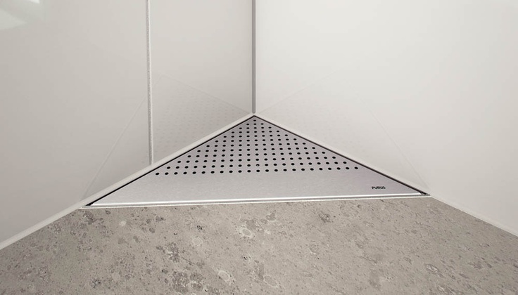 PURUS LINE - Floor drain and floor drains to bathroom and shower