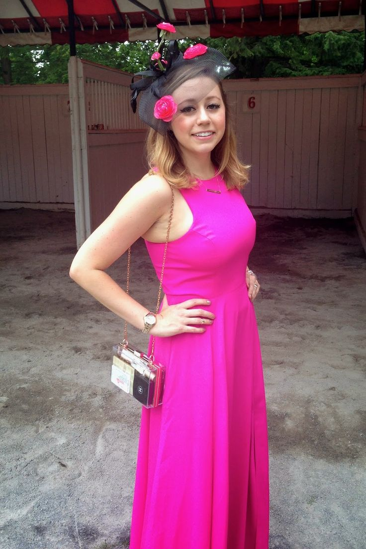 Cupcakes & Couture: What I Wore: Saratoga Horse Races
