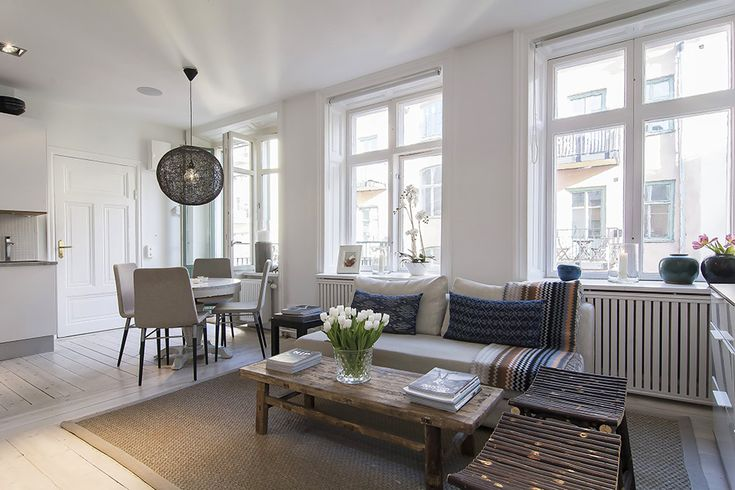 interior modern apartment Small Apartment in Stockholm Encapsulating A Glass Walled Bedroom