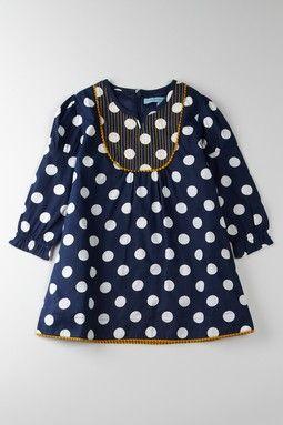 Cupcakes & Pastries Blue Bib Tunic Dress