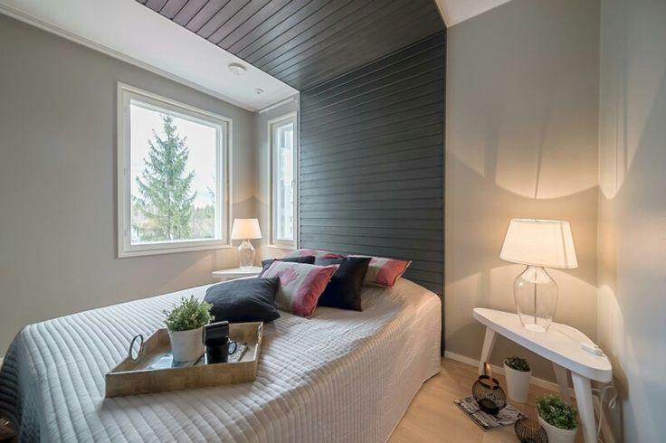 Makuuhuone, seinä&katto