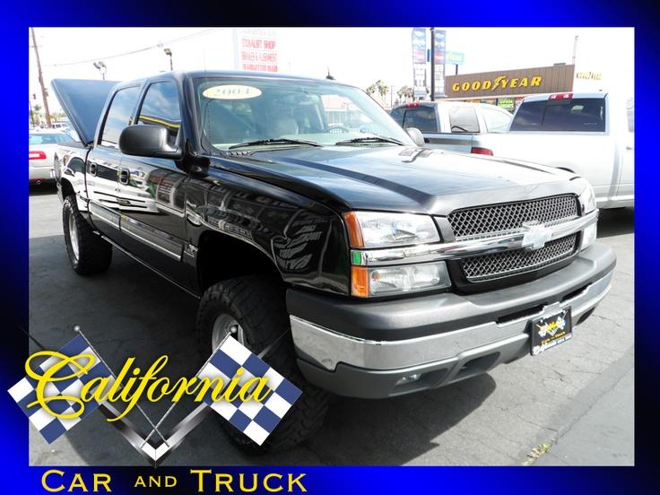 Black Lifted Chevy  Silverado for Sale http://californiacarandtruck.net/