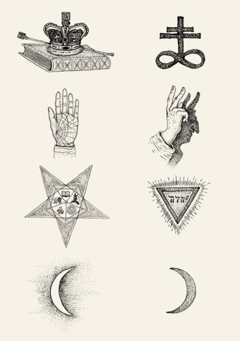 Occult Pictograms by Bradley Jay