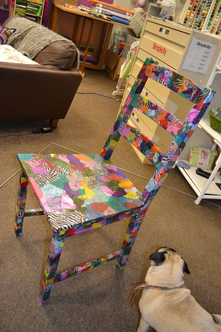 Finally finished my chair!