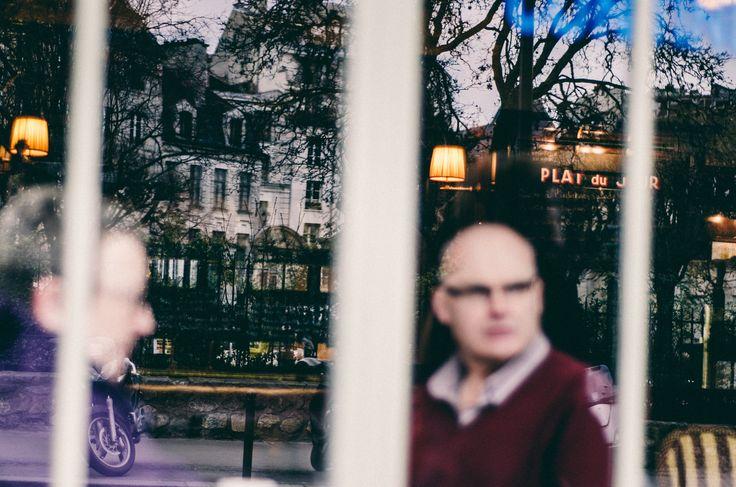 paris, reflection