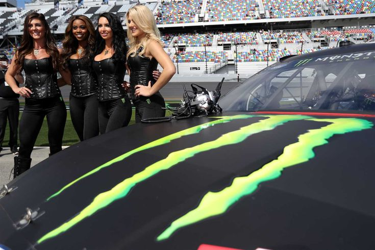 Best of: Monster Energy girls at the track Tuesday, May 16, 2017 Daytona International Speedway Photo Credit: Getty Images Photo: 3 / 20