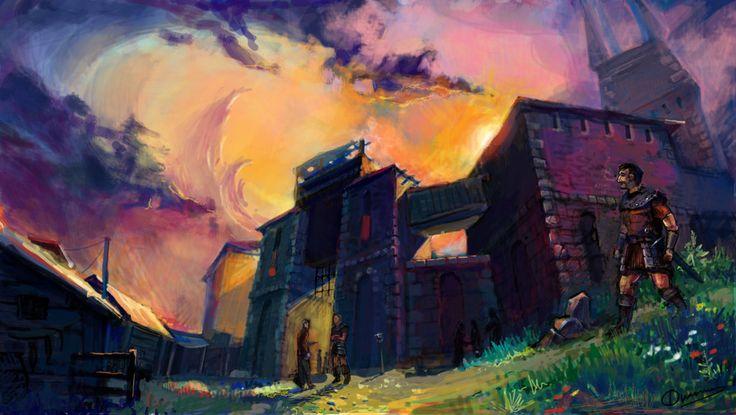 Gothic. Old camp by Filchenkov